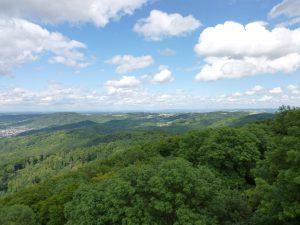 Foto: Odenwald aus der Vogelperspektive