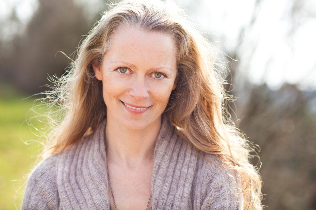 Foto: Gudrun Glemann im Odenwald