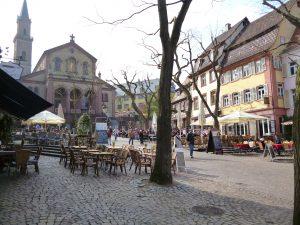 Foto: Marktplatz in Weinheim